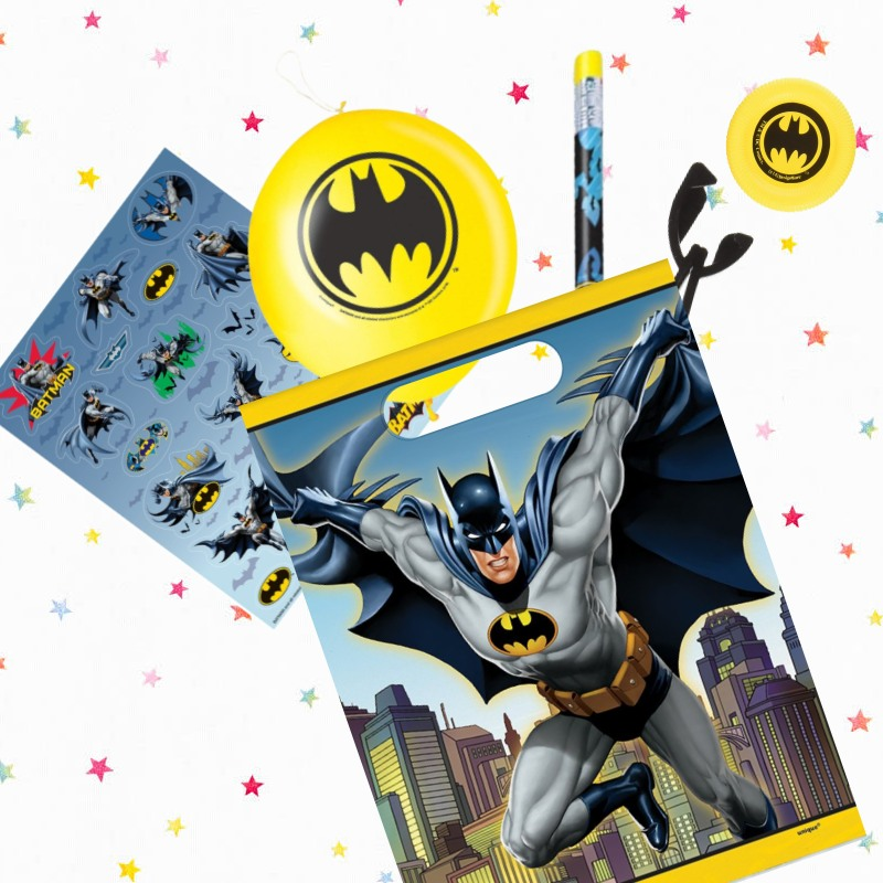 Batman Party Bags