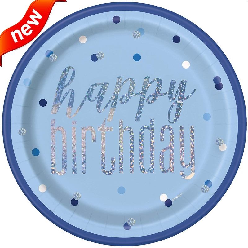 NEW! Glitz Blue Party Supplies
