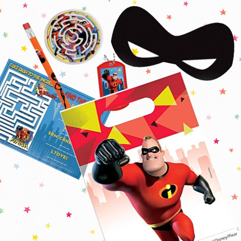 Incredibles Party Bags