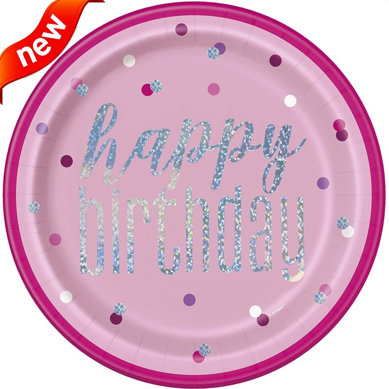 NEW! Glitz Pink Party Supplies